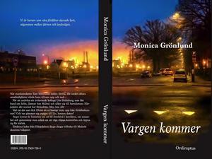 Omslagsfotot är taget av Monica Grönlund på den gata hon bor på i Malmö. Under en tidig morgonpromenad brann en fabrik i närheten. Den branden utgör en kuliss i romanen.