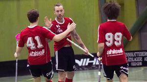 Nummer 81 Kim Fröjd-Arvidsson gjorde två mål.