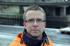 Stefan Näslund, projektledare.