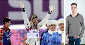 ST-Sportens reportrar minns sportåret som gick. Andreas Ignell skriver om skicrossåkaren Anna Holmlund som gjorde en till synes omöjlig resa.