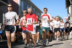 Löpning i Nora. Norasjön runt ska ingå som löpartävling i Bergslagsklassikern som ska dra igång nästa år. Arkivbild.