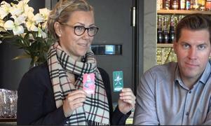 Charlotte Gustavsson och Per Svartvadet.