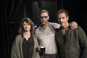 Lena Endre, Mikael Persbrandt och Thomas Hanzon spelade i Strindbergs äktenskapsdrama