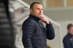 Peter Bergström assisterande tränare i Fagersta AIK.