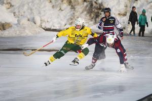Veteranen Sebastian Jonsson spelade sin kanske sista match med Ljusdals BK i förlustmatchen mot Katrineholm