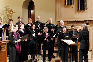 Kören Octava vid en tidigare konsert.