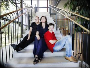 Trion som gjort uppsättningen möjlig, tenoren och artistförmedlaren Göran Eliasson, hans hustru Anna Larsson, en av världens främsta Wagnersångerskor och dirigenten Patrik Ringborg.