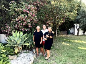 Det spanska äventyret har börjat för Lena, David och Caroline.