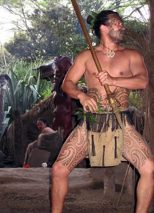 Maoridans på Nya Zeeland.