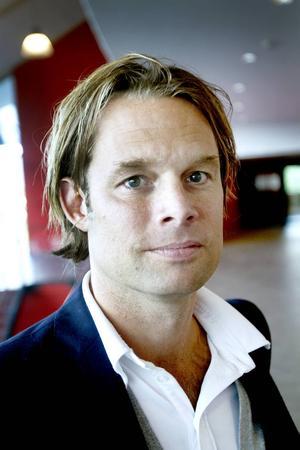 Fredrik Granting, vd för Göransson arena.