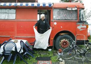 Den här sommaren har Marie och Tommy bott tre månader på Sandvikens camping.– Det har varit helt underbart, fast vädret kunde förstås ha varit bättre, säger Marie Åsell.