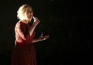 Adele brottades med ljudstrul under sitt framträdande.