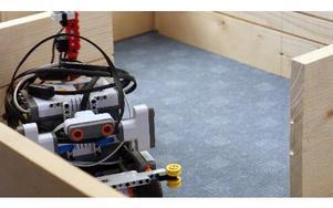 Här är roboten som kom på en hedrande sjätte plats i robot-VM. FOTO: ANGELICA LINDVALL