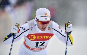 Oskar Svensson, här i Ruka.