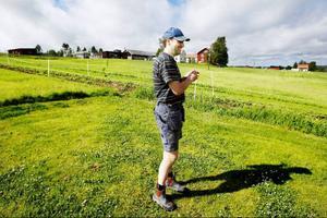 """Per Jonsson i Görvik har inte satt någon ny hampa. """"Jag är lite skeptiskt till att fortsätta med det. Men det är roligt att prova"""", säger han."""