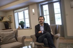 """Vattenledningsfiaskot utgör ett stort bekymmer för Spendrups.  """"För närvarande klarar vi verksamheten, men situationen är mycket begränsande och försvårar möjligheterna att expandera"""", säger företagets vd Fredrik Spendrup."""
