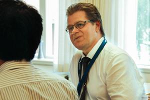 Kenneth Forssell, chef vid integrationsenheten, Ljusdals kommun.