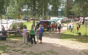 Limededforsens Folktes Park var välbesökt under Limadagen.