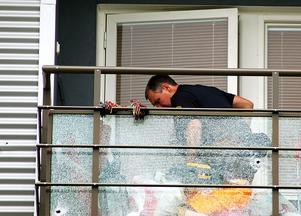 I början av augusti skedde en skottlossning mot en lägenhet på Betesgatan i Borlänge. Det var en av flera skottlossningar under sommaren.