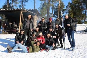 En vinterdag i Hemus med SFI.