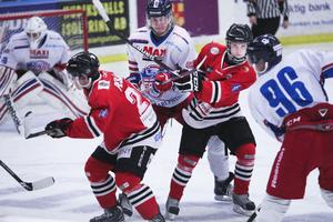 Hudik Hockey hade inget att sätta emot Falun.