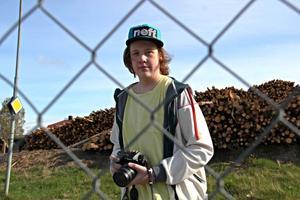 Helmer Olsson, 13, är fotoklubbens yngsta medlem, och deltog i tävlingen.