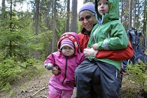 Yngst. Yngsta deltagare var Hedvig Paulin, snart två år, med storebror August fyra år, och farmor Ingegerd Paulin.