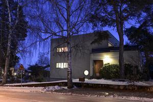 Huset på Eriksgatan 7 är Västerås första funkisvilla.