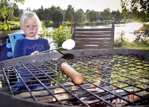 Vad är väl en krälande kräfta mot en mjuk, maffig marshmallow? Karin Sundberg gillade grillat.