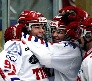 Magnus Pääjärvi och Anton Lander i Timråtröjan när de slog igenom som juniorer.