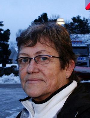 Ann Nylén, 61, sjukvårdsbiträde,  Njurundabommen. Jag vill gärna ha Janssons frestelse och så skinkan förstås.