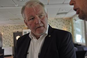 Johan Nikula, ordförande i GIF Sundsvall.
