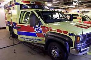 Arkivbild: MATS ÅSTRAND Kritik. En ambulanssjuksköterska såg inte till att en lungsjuk kvinna fick rätt vård i ambulansen. För det får sjuksköterskan sträng kritik av socialstyrelsen.