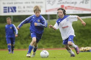 Hudik Cup (bilden från P 10-finalen mellan Iggesund och Gif Sundsvall i fjol) håller ställningarna med strax över 150 deltagande lag, men det är skrämmande dåligt intresse från hälsingeklubbarna.