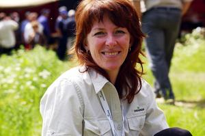 Bilog. Irene Sivertsson, ekoparksamordnare anser att Sveaskog har hög svansföring när det gäller naturvård.