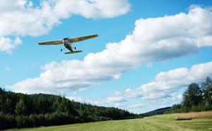 Räkna med högtflygande planer om du besöker Bollnäsfältet i dag.