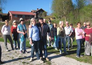 Olle Belin kramar om guiden Gertrud Ilis.
