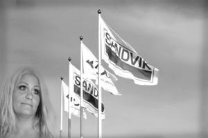 Jessica Einarson är klubbordförande för IF Metall på Sandvik process systems i Sandviken