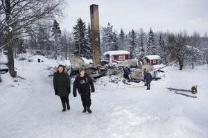 Det gick fort när huset i Östansjö brann ner. Den 5 januari 2012 påbörjades branden, som gjorde att en familj blev av med sitt hem.