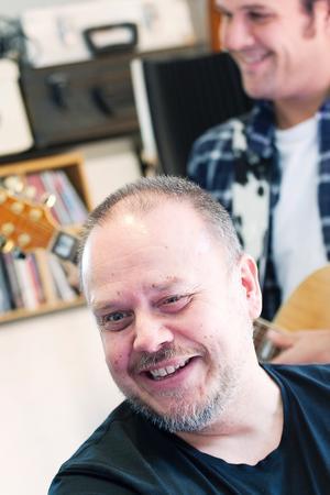 Jan Bengtsson, trummis i Lars Vegas Trio.