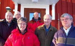 Ronald Ragnvaldsson, Nils-Olof Mårtensson, Kurt Eriksson, Kerstin Mårtensson, Sten Sundquist och Rolf Torndahl är hjärnorna bakom Strömsboken.