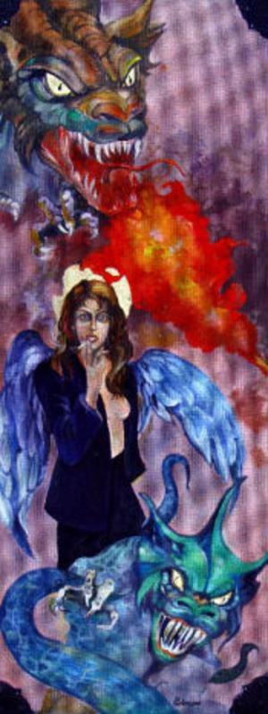 Fantasy av Jelena Kimsdotter Kuzmina.