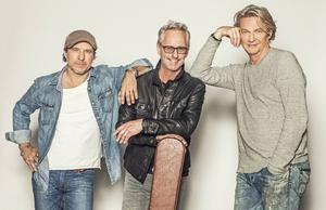 Patrik Isaksson, Uno Svenningsson och Tommy Nilsson.