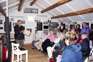 På bodskullen finns texter och bilder om olika aspekter av fiskarkulturen och samhälles historia.