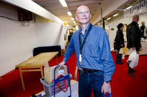 Pelle Granath hade åkt ändå från Älvsjö för att sälja hälsoprodukter, och han var nöjd med helgen.
