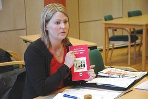 KANDIDERAR. Erica Wallin från Västland är högt placerad på riksdagslistan för Socialdemokraterna i Uppsala län.