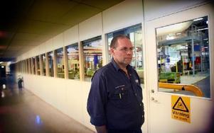 -- Scania är beroende av oss, påpekar Gunnar Andersson, sekreterare i fackklubben.