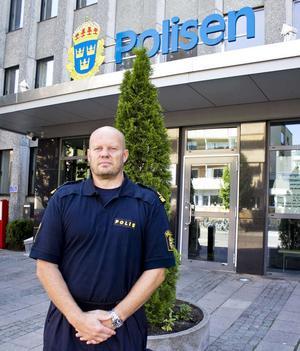 Tillförordnad lokalpolisområdeschef Lars Jansson