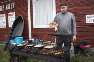 Martin Nilsson vände kolbullar i stora mängder.