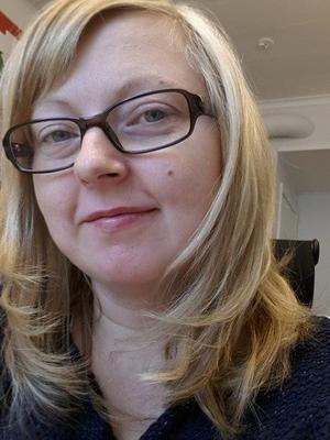 Magdalena Eriksson blev vittne till olyckan.